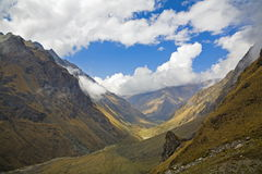 Peruvian Andes Royalty Free Stock Images