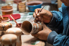 Peruvian Artisan Stock Photography