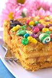 Peruvian Cake Called Turron Stock Photo