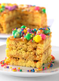 Peruvian Cake Called Turron Stock Photos