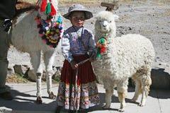 Peruvian child Stock Photo