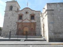 Peruvian Church stock image