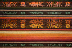 Peruvian cloth from the Andes Royalty Free Stock Image