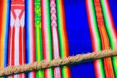 Peruvian cloth Stock Photo