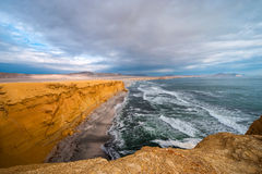 Peruvian Coastline, Paracas National Reserve Stock Photos