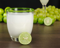 The Peruvian Cocktail, Pisco Sour stock photography