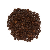 Peruvian coffee. Isolated on white background Stock Photography