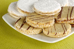 Peruvian Cookies Called Alfajor Royalty Free Stock Photos