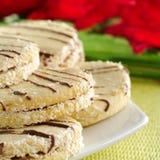Peruvian Cookies Called Alfajor Royalty Free Stock Photos