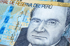 Peruvian Currency royalty free stock photography