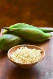 Peruvian or Cuzco Corn Stock Photo