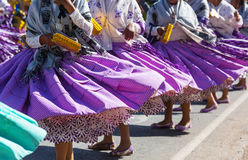 Peruvian dance Royalty Free Stock Images