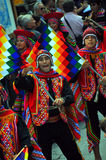 Peruvian Dance Group Stock Images