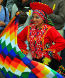 Peruvian Dance Group Stock Photography