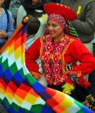 Peruvian Dance Group Stock Photography