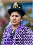 Peruvian dancer Stock Photos