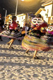 Peruvian dancers- Sacred Valley, Peru Royalty Free Stock Photos