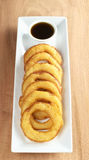 Peruvian Dessert Called Picarones Royalty Free Stock Photography