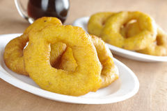 Peruvian Dessert Called Picarones Stock Photo