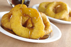 Peruvian Dessert Called Picarones Royalty Free Stock Images