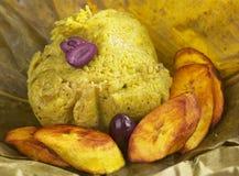 Peruvian Dish Called Juane Stock Image