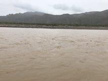 Peruvian do banco de rio Imagens de Stock Royalty Free