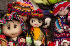 Peruvian dolls Royalty Free Stock Photos