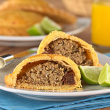 Peruvian Empanada Meat Pie Royalty Free Stock Image