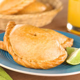 Peruvian Empanada Meat Pie Stock Photography