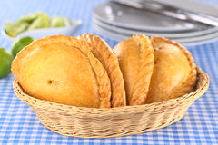 Peruvian Empanadas Royalty Free Stock Photos