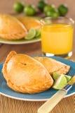 Peruvian Empanadas Stock Images