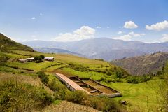 Peruvian farm Royalty Free Stock Images