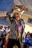Peruvian festival Stock Image