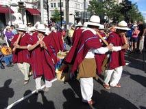 Peruvian Fleta Zespół Zdjęcie Stock