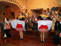 Peruvian folk dance, Cusco city, Peru, South America Royalty Free Stock Photos