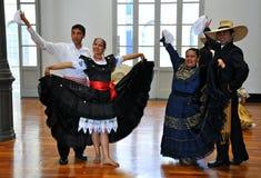 Peruvian Folklore  Dancers Royalty Free Stock Image