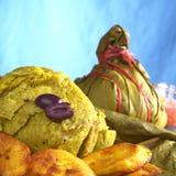 Peruvian Food Called Juane Stock Photography
