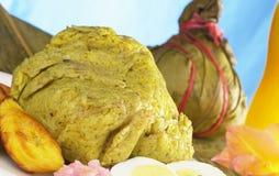 Peruvian Food Called Juane Stock Photo