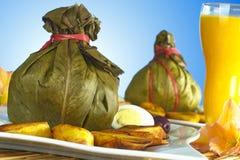 Peruvian Food Called Juane Stock Image