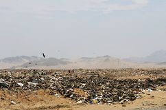 Peruvian Garbage stock images