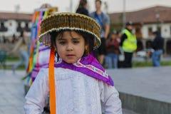 Peruvian girl Stock Images