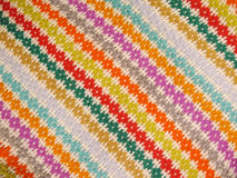 Peruvian hand made woolen fabric. Background stock photos
