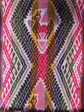 Peruvian hand made woolen fabric Stock Photos