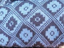 Peruvian hand made woolen fabric Stock Image