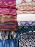 Peruvian hand made woolen fabric Royalty Free Stock Photography