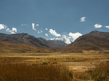 Peruvian highlands view Royalty Free Stock Image