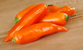 Peruvian Hot Pepper Called Aji Stock Photography