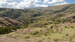Peruvian Landscape Royalty Free Stock Photo
