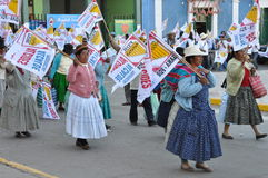 Peruvian local elections 2010 Royalty Free Stock Photography