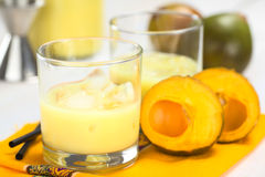 Peruvian Lucuma Cream Liqueur Royalty Free Stock Photo